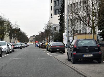 """Zufahrt zum Gewerbepark """"Alte Brauerei"""""""