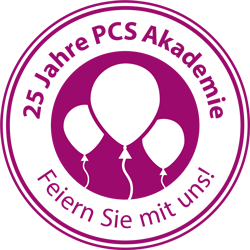 25 Jahre PCS Akademie - feiern Sie mit!
