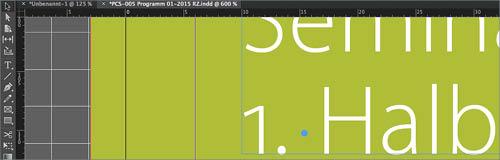 Layouts mit Adobe InDesign. Grafik: M. Rüttgen, PCS Akademie